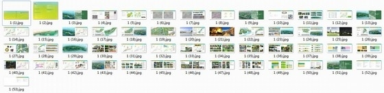 [广西]缤纷多彩滨水百里景观长廊景观规划设计方案-缩略图