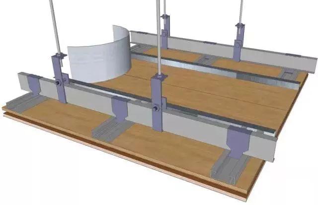 地面、吊顶、墙面工程三维节点做法施工工艺详解_25