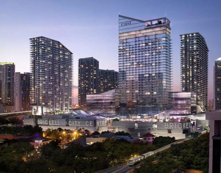 景观分享 ▏Brickell中央广场景观设计,迈阿密