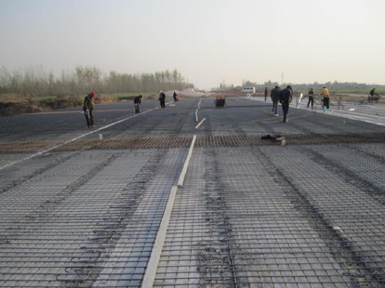 高速公路桥面系及附属工程复工报告