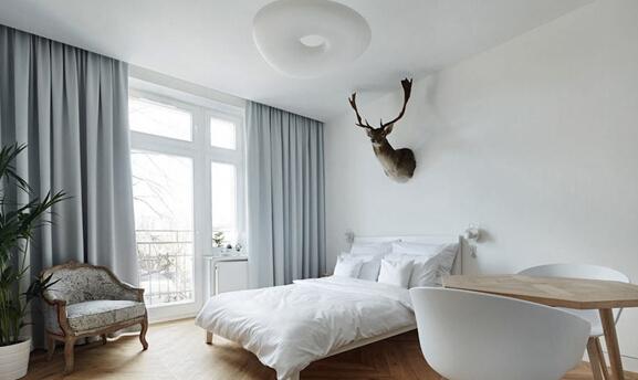 租房大军看过来:27平米出租房再设计,黑白灰创造宁静极简质感