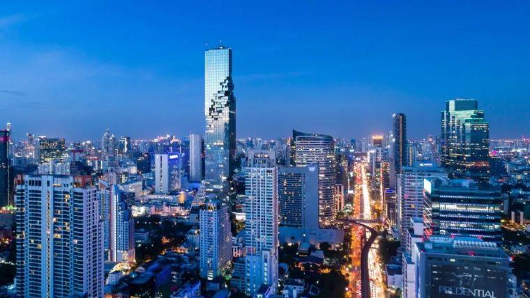 站在高处看世界,城市高空的生活空间