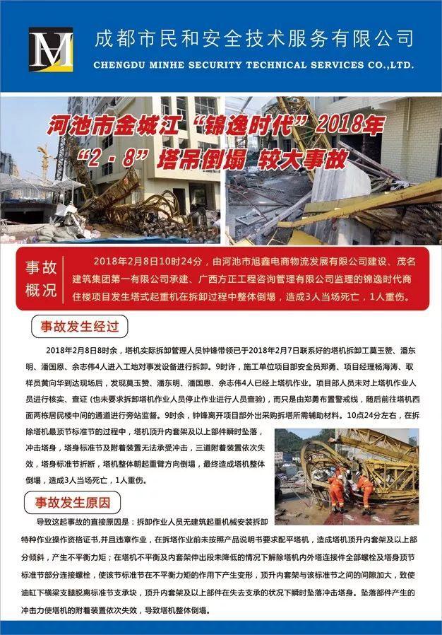 最新塔吊施工事故案例系列挂图