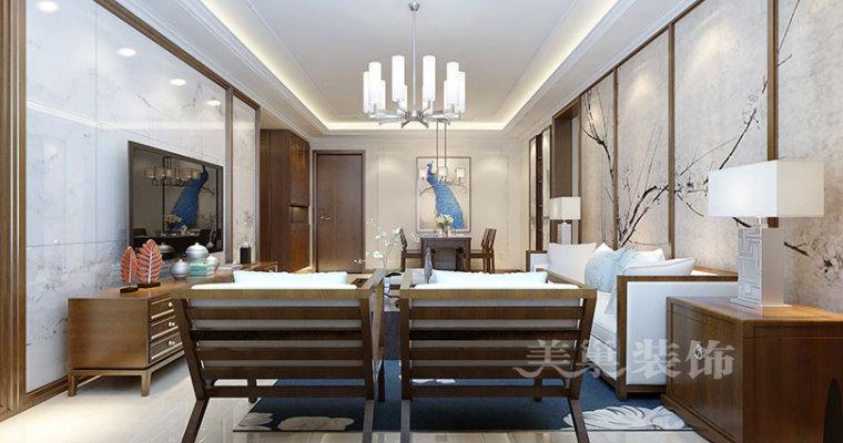 郑州健达西西湖装修,现代与中式风格的完美融合