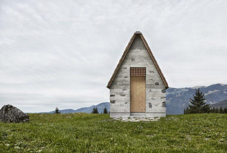[建筑案例]阿尔卑斯山谷中的礼拜堂