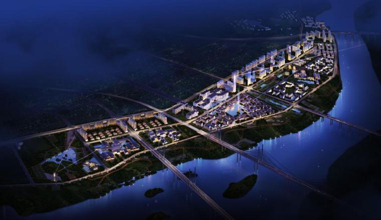 [广东]中式风格特色主题商业文化街规划建筑方案文本