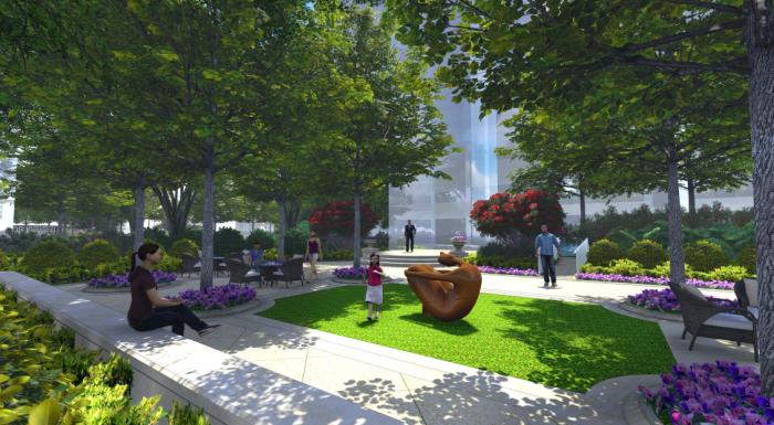 [河南]ArtDeco风格绿色生态居住区景观规划设计方案