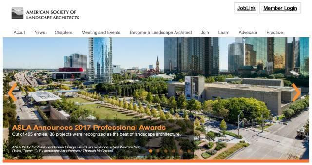 2017ASLA获奖名单新鲜出炉,张唐景观中国唯一获奖!