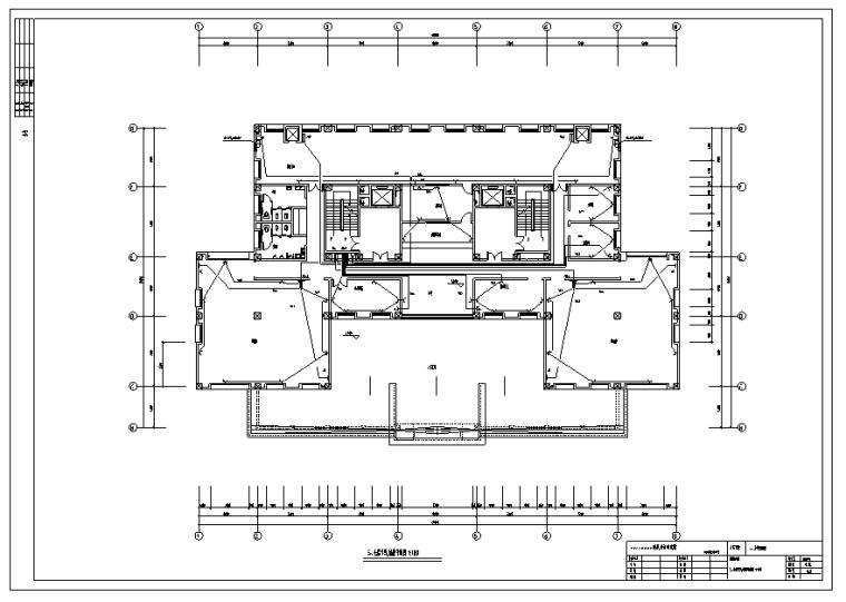 某大学图书馆电气设计图纸全套_4