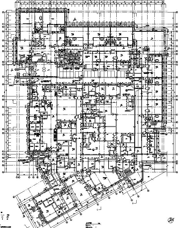 [西藏]高层假日酒店全套施工图(水暖电、结构及室内图纸)_9