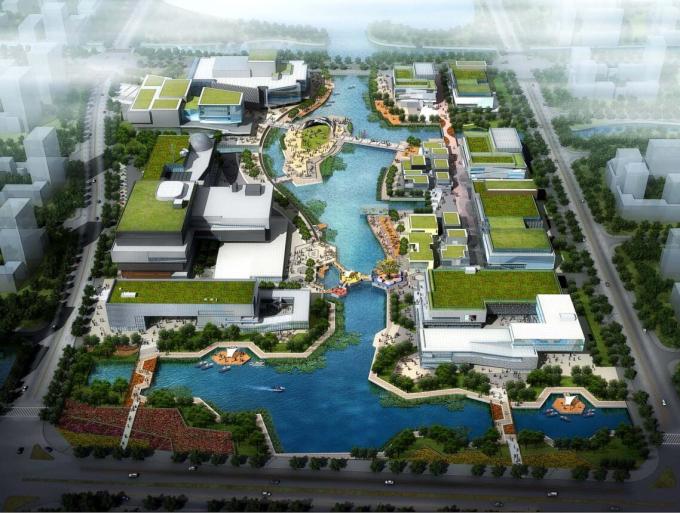 [浙江]文化广场景观概念方案设计-奥雅设计
