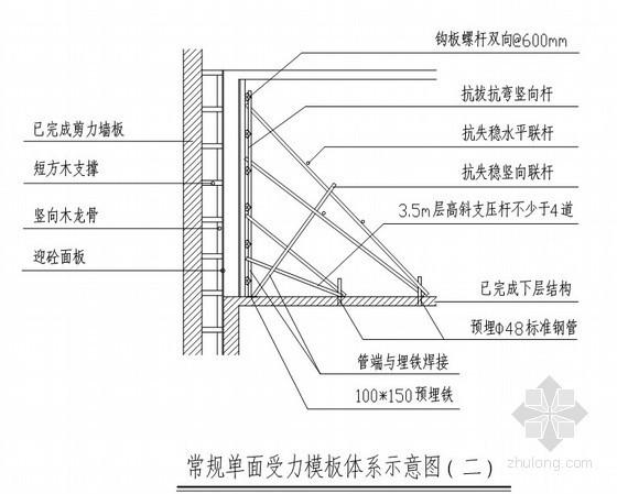 [优秀QC]双重剪力墙变形缝模板施工方法创新