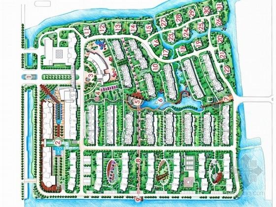 [江苏]精品小区住宅景观扩初设计方案(附节点施工详图)