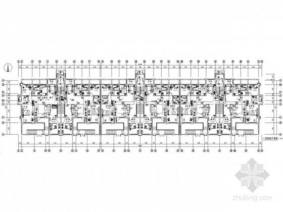 [宁夏]多层住宅建筑群电气施工图纸