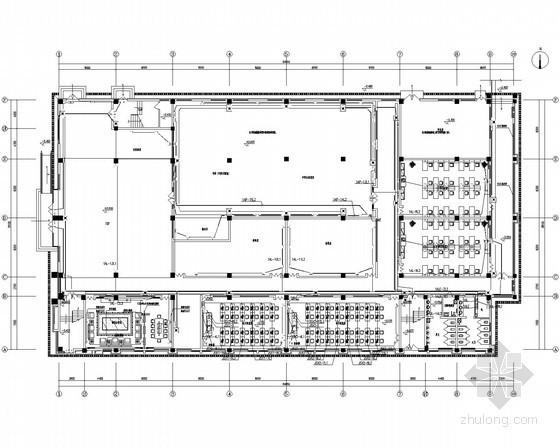 [江苏]知名大学附属学校图文综合楼室内装修电气施工图(甲级院最新设计)