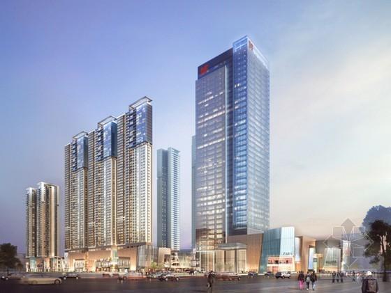 超高层商业办公楼轮扣式模板支撑施工方案