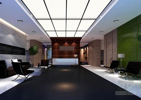 [成都]自然生态环境现代风格办公空间装修设计方案