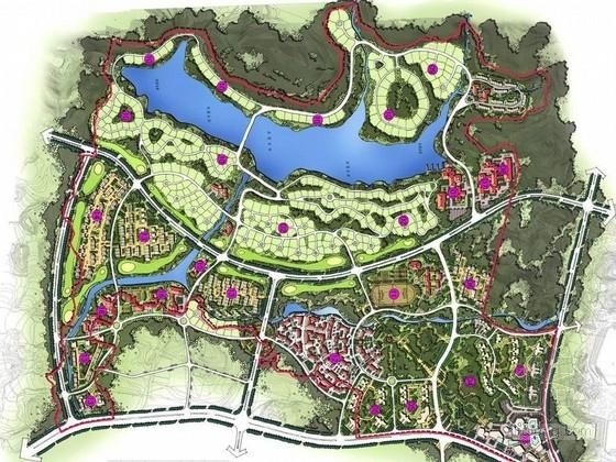 [重庆]滨湖居住区周边景观规划设计方案