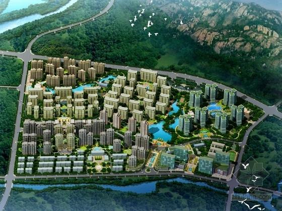 [山东]新中式高层住宅小区规划设计方案文本(知名设计院)