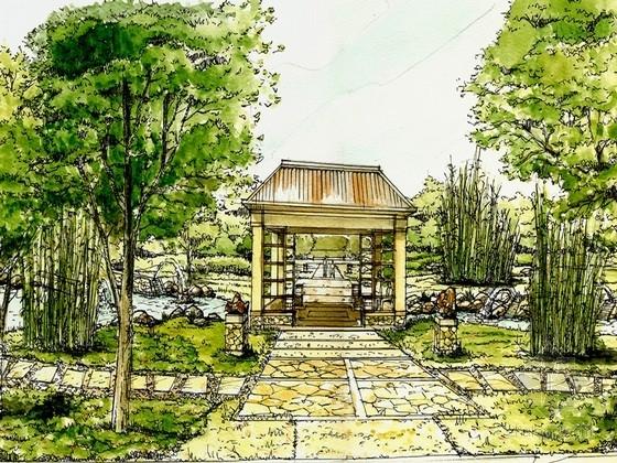 高尔夫别墅景观设计方案