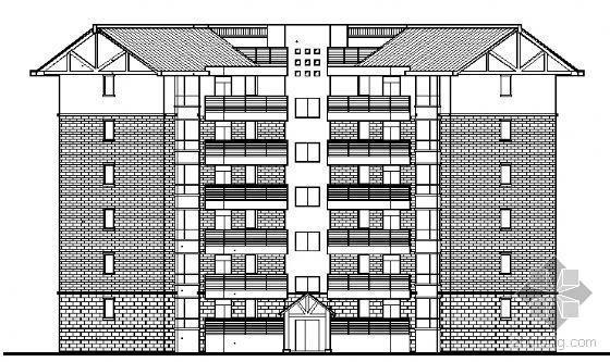 四川省三台慧川某小区住宅楼群建筑结构水电施工图-3