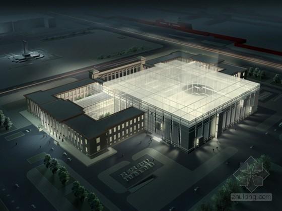 某国家博物馆改扩建工程方案文本(含效果图及设计分析)