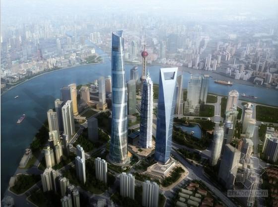 [上海]超高层核心筒结构螺旋状办公综合体建筑设计方案文本(1500多张超详细)