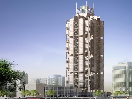 [重庆]中建某国际大厦建筑方案文本及CAD方案(附设计说明)
