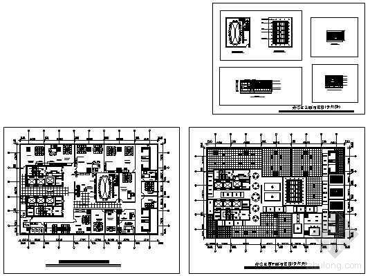办公楼装修布置图-4