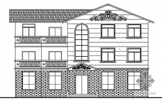 某三层小办公楼建筑施工图