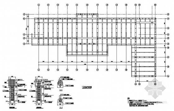 某单层木结构农家院建筑结构设计图