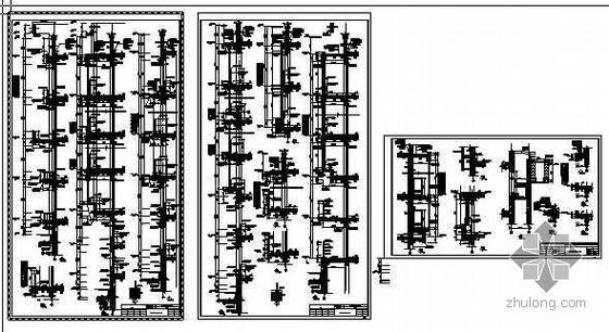 山东青岛某住宅5#建筑施工图(高层板楼18F)