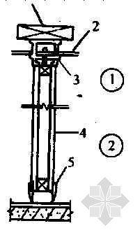 直滑式隔断立面及节点示意