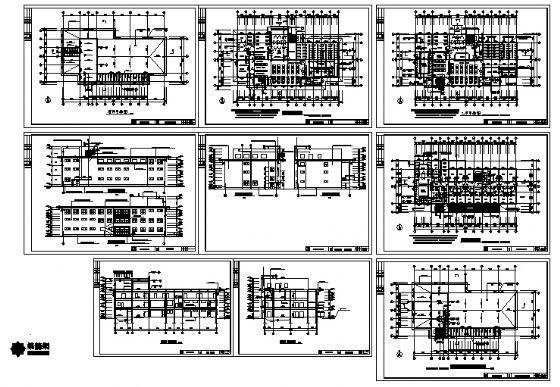 洗浴中心建筑施工图-4