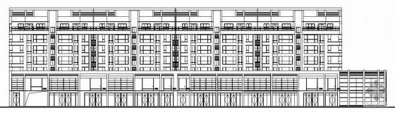 某六层商住综合住宅建筑施工图