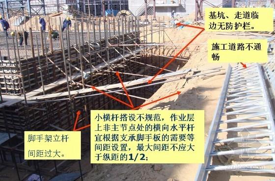 建筑工程脚手架搭设安全技术管理及常见违规现象(61页)