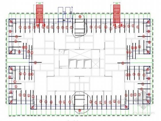 [贵州]超高层商住楼型钢悬挑脚手架安全专项施工方案(152页 大量附图)