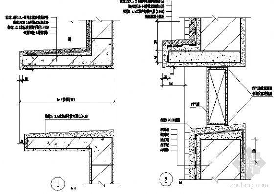 空调窗户构造排气窗户构造
