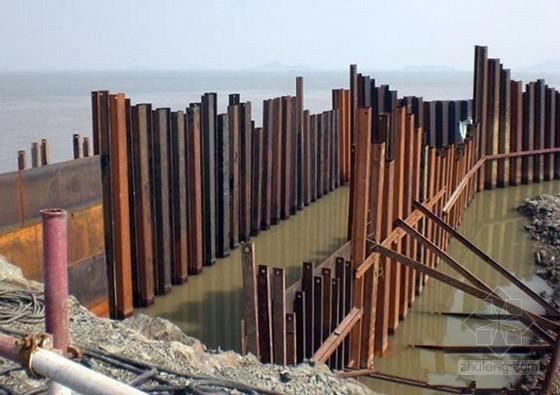 [江苏]河道内钢板桩基坑支护施工方案
