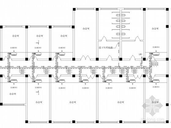 [河南]小高层办公楼空调制冷工程设计施工图(风冷热泵机组)