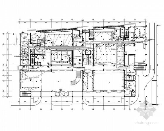 [北京]健身娱乐综合公共建筑楼全套电气施工图纸79张(含酒店 餐厅 会议室)