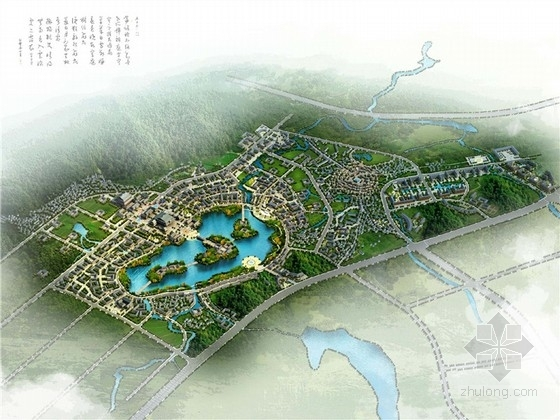 [贵州]中式风格马场古镇规划设计方案文本