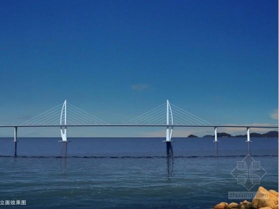 [广东]跨海大桥工程土建及组合梁施工技术标A3版式459页附61张图(悬臂竖转)