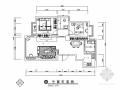[四川]田园风情两居室室内装修施工图(含效果)