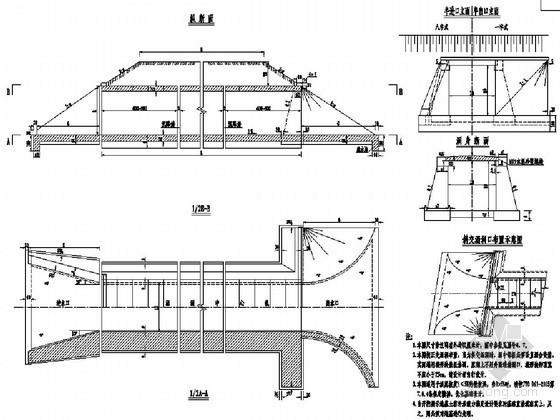 高速公路盖板涵通用图(12张)