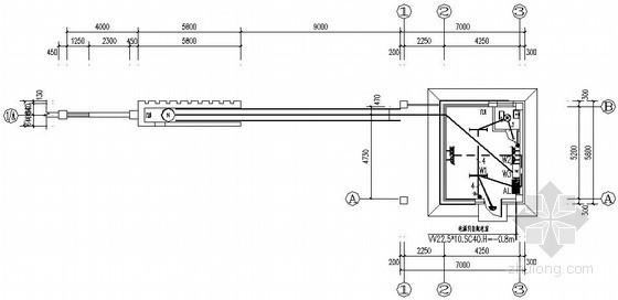 厂区门卫室电气施工图纸