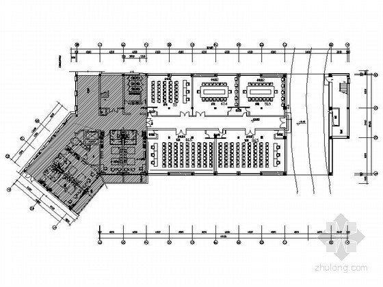 酒店办公会议客房住房部装修设计图