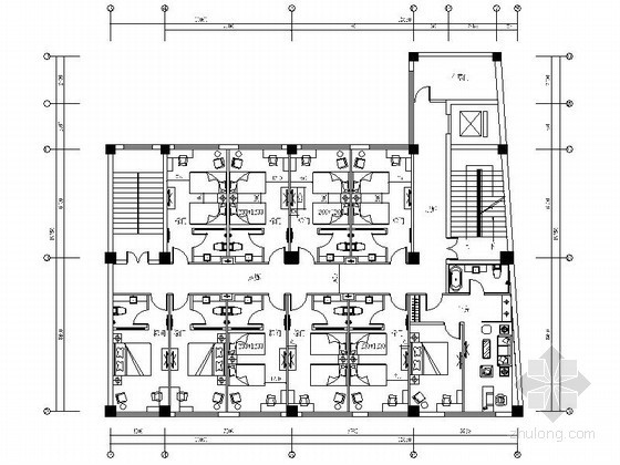 vip休息室平面图资料下载-[陕西]某精品养生会所室内设计施工图