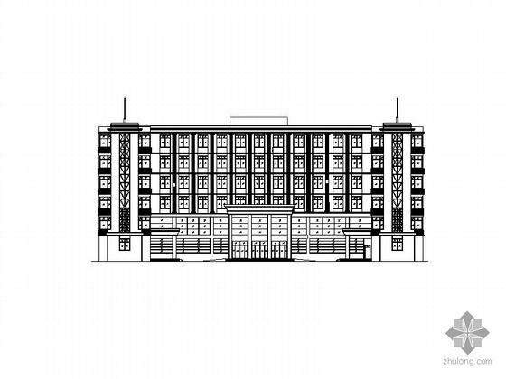 某医院六层门诊楼及急诊中心建筑扩初图