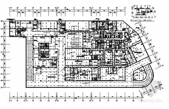 [河南]5星级国际酒店写字楼电气施工图